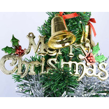 OEM Plastic Alphabet and Letter for Christmas Tree Decoration