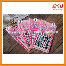 Large acrylic drilling sticker gems, combined packages , best selling in china
