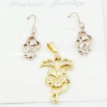 China Wholesale Moda Plated Gold Set Jóias