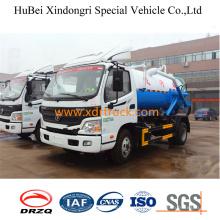 6cbm Fashionable Design Sewage Suction Truck