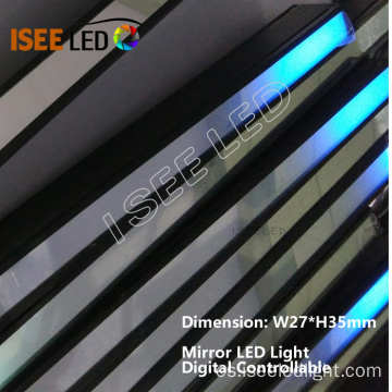Mirror Cover LED Light Control digital DMX