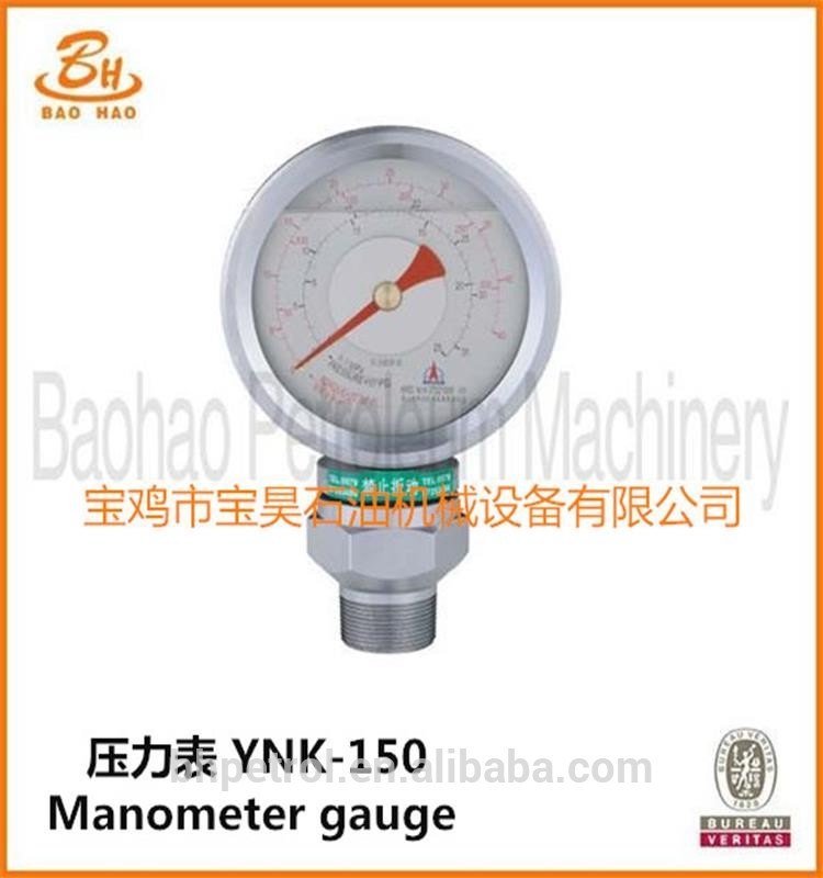 API-Certified-YNK-150-Manometer-Gauge
