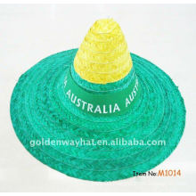 custom made mexican straw hat