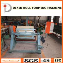 Bobina de aço elétrica Decoiler para rolo dá forma à máquina