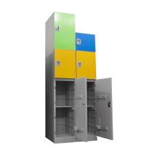 YS Locker Customize Lock Top Quality Shoe Storage Cabinet Designs Plastic ABS Wardrobes Locker