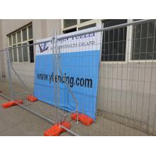 Канадская временная ограждающая панель / временная панельная строительная ограда / сварная панельная ограда
