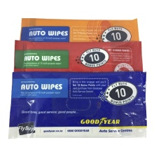 Biologisch abbaubare Feuchttücher Auto-Feuchttücher zur Reinigung