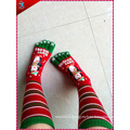 Christmas Knee Sock Printed for Gift