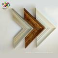 деревянная линия поверхности фоторамка для декоративной стены