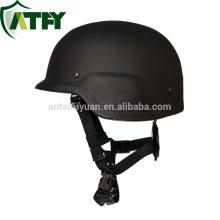 Black Pasgt Military level IIIA combat ballistic helmet made in china