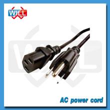 UL CUL certifié 125v 250v haute qualité cordon de rallonge électrique Canada