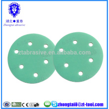 Discos abrasivos abrasivos de película de poliéster de 7 pulgadas