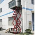 Corrosion Resistance Inground Car Scissor Lift Exterior Use