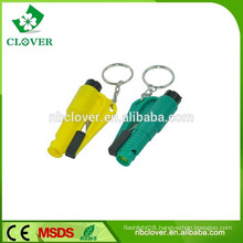 Plastic material multifunctional safety survival whistle