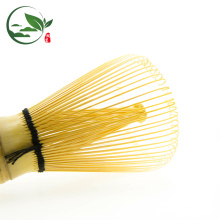 100 Prong Golden Bamboo Tea Whisk