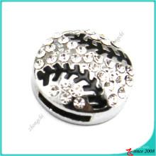 Encantos de prata encantos pulseira encantos de beisebol