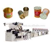 Tin Can Box Container Making Machine Production Line