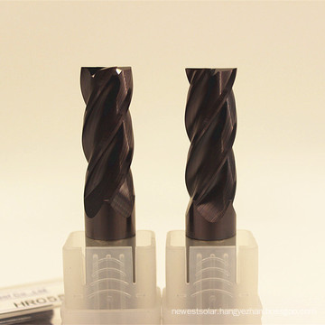 HRC55 Carbide Square End Mill for Steel