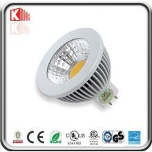 Bulbo do diodo emissor de luz do copo MR16 G5.3 da lâmpada do diodo emissor de luz de RoHS 6W do CE