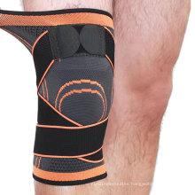 Wholesale Elastic Neoprene  Pads  Support Sleeve Compression Sports Knee Brace