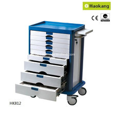 Carrito médico para la entrega de la droga del hospital (HK812)