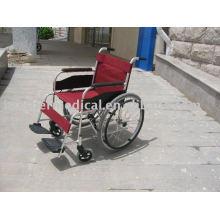 Grundlegende Aluminium Rollstuhl Doppelte Kreuz Stütze Speichen Räder Best Schweißen