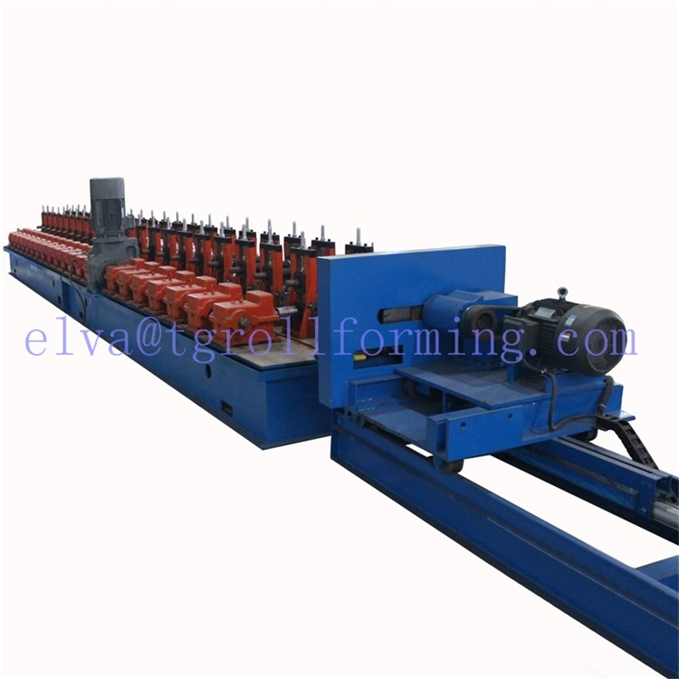 Solar Photovoltaic Dukungan Strut Channel Roll Foming Machine