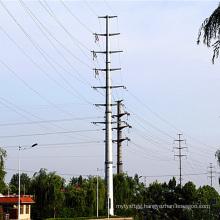 110 Kv Monopole Tower Power Transmission