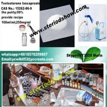Esteroide anabólico Isocaproate de la testosterona CAS No .: 15262-86-9 Quema de grasa del levantamiento de pesas