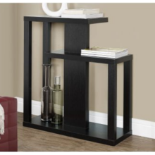 Long Narrow Console Table Behind Sofa with Storage