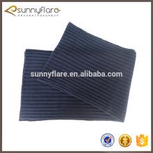 Patrón de la bufanda de cachemira de punto de costilla gruesa de invierno venta caliente