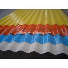 Hot Sale Colorful FRP Fiberglass Roof Plastic Skylight Panel