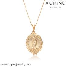 Colgante en forma de corazón de la moda de la joyería 32261-Xuping con el oro 18K plateado