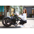 FAT/Beach Tire e bicycle 48v1000W 20''x4.0 foldable fat electric bicycle with big battery
