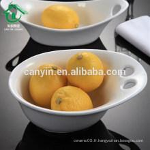2015 Nouveaux articles chauds pour soupe de céramique Bol de fruits
