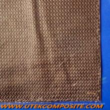 Velo de carbono cosido hilos trenzados velo mat para pultrusión