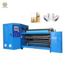 High speed slitter rewinder machine for paper roll