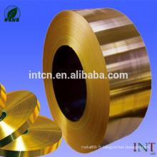 bande d'alliage de cuivre C26800 H68