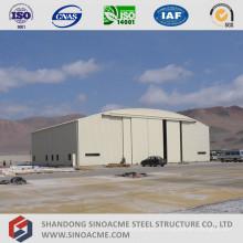 Hangar d'avion en acier de construction métallique de haute qualité