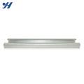 JIS Standard Structural Steel China Fornecedor perfurado c canal de aço