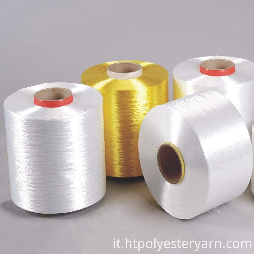 100% Low Shrinkage Twisted Polyester Filament Yarn