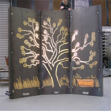 Laser Cut Metal Garden Screens
