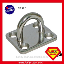 SS321 Industrial Safety Stainless Steel Pad Eye Plates
