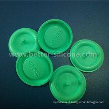 Válvula unidirecional da borracha de silicone do ressuscitador médico