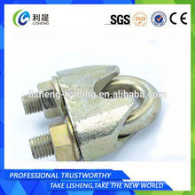 Din 1142 Galvanized Malleable Wire Rope Clips