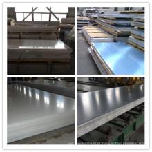 Placa de liga de alumínio 6D16-T6