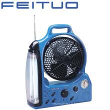 Ventilateur rechargeable, éclairage de secours