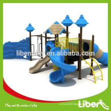 outdoor plastic playground systems with TUV standard (LE.GB.002)