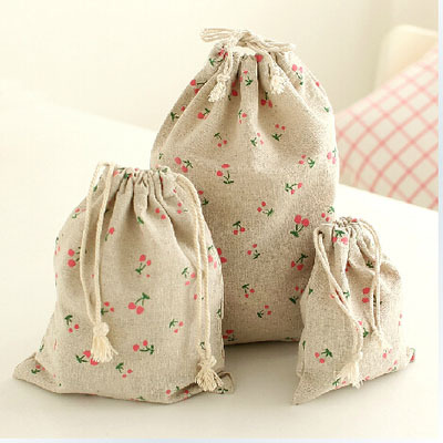 Cotton line store bag