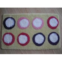 Flannel Bath Mat, Chennile Bath Mat, Textile Bath Mat